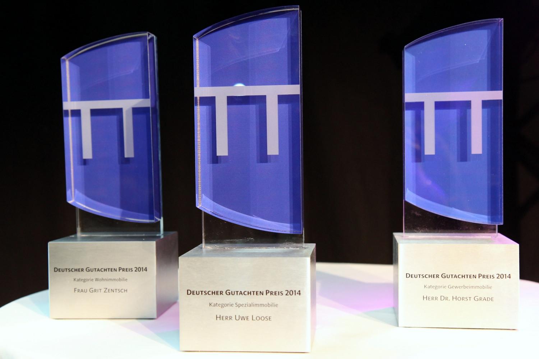 Preise der drei Kategorien